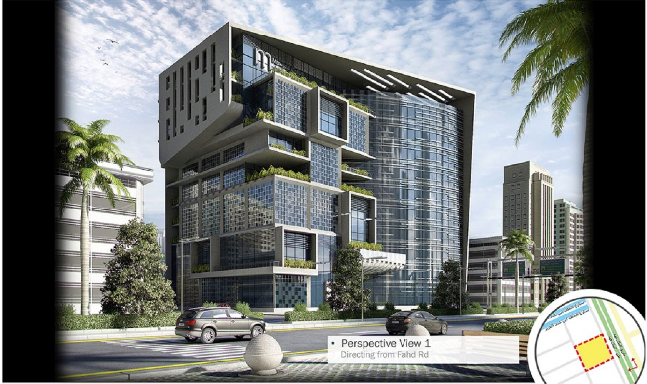 Mawarid Office Building Architecture Design