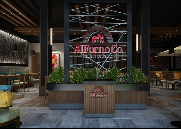 Alforno Restaurant Interior Design