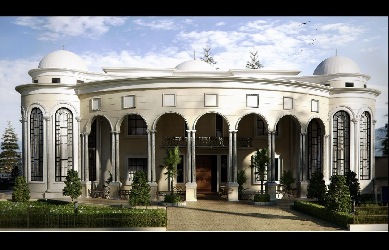 palaces Architecture designs in Riyadh