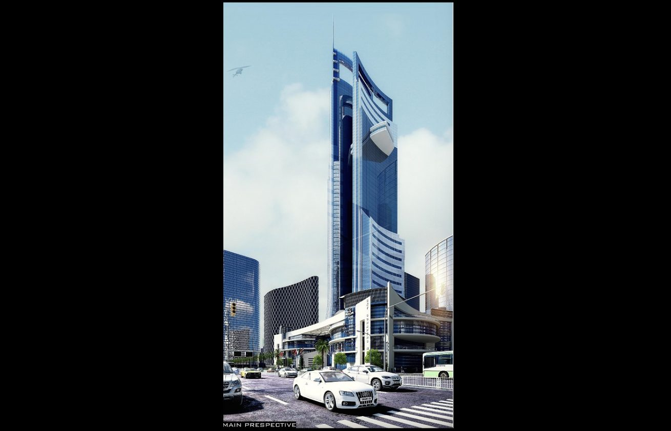Sky Tower architecture Design