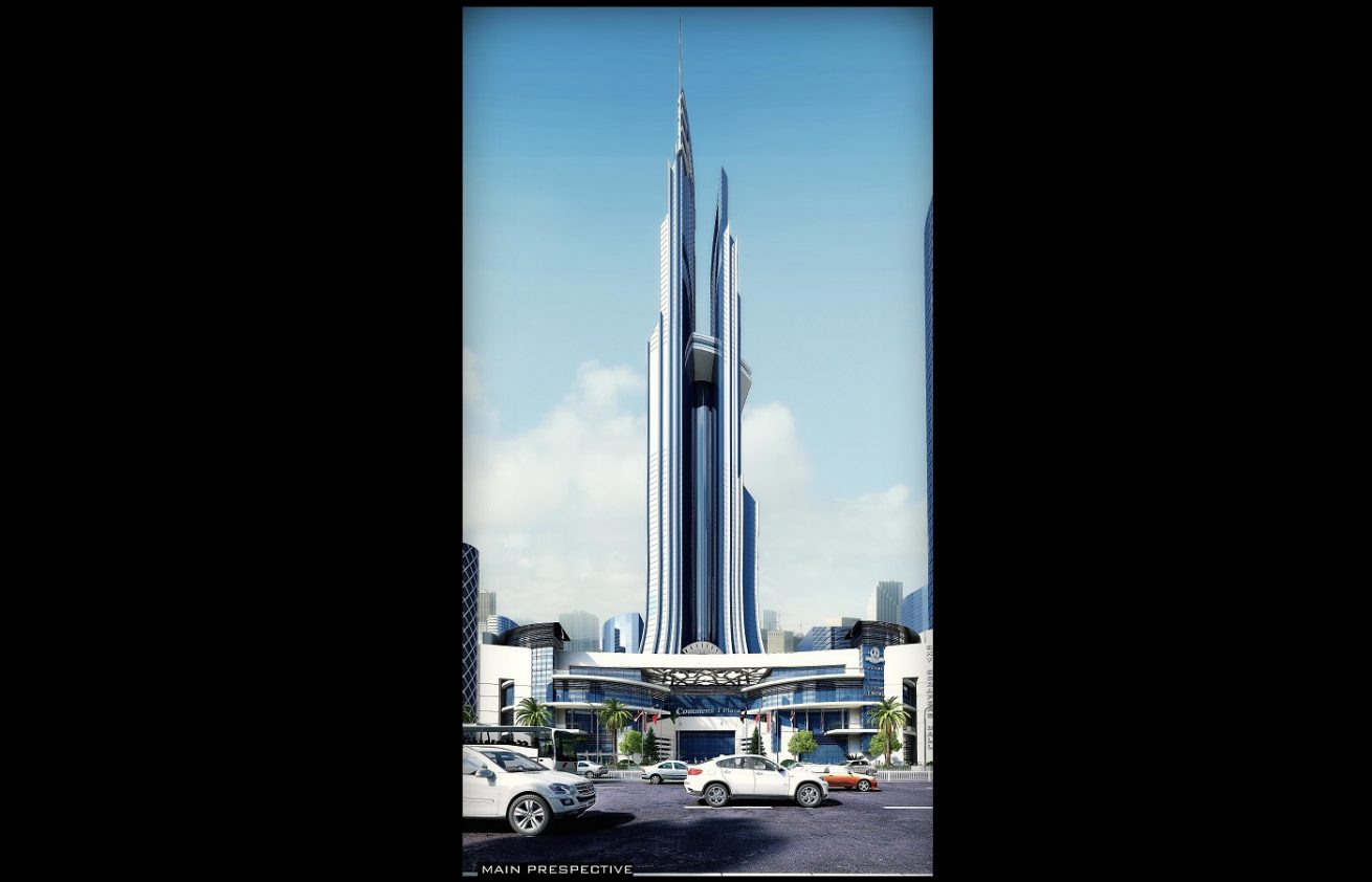 Sky Tower amazing architecture Design